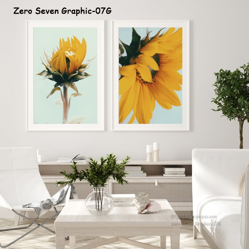 Nature Plant Flower Wall Art Decor Lotus Poster Print A5 A4 A3
