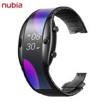 Nubia Alpha-reloj inteligente Original, accesorio de pulsera con pantalla OLED de 4,01 pulgadas, teléfono móvil de 500mAh, 1GB de RAM y 8GB de ROM, Snapdragon 8909W