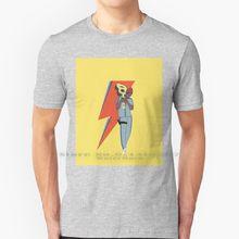 100% algodão puro seu jorge seau jorge david bowie david bowie wes camiseta de manga curta unisex
