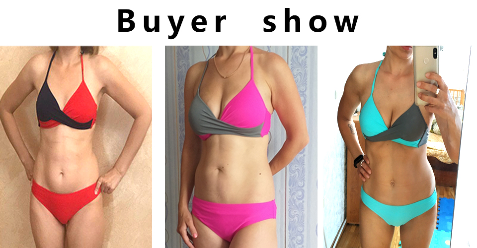 H7a8a2ce8c7ee4389a0c3bf90d6be6a14m Push up Bikinis: Sexy Bikinis, Women Swimsuit, High Waisted Bathing Suits, Push Up Bikini Set Beachwear