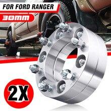 2/4X30Mmล้อรถSpacerอะแดปเตอร์PCD 6X139.7มม.CB 108มม.12X1.5มม.สำหรับFord Ranger All MKsสำหรับMazda/Toyota/Vauxhall/Mitsubishi
