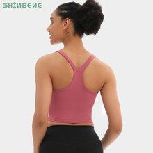 Женский укороченный топ shinbene racerback buttery soft для