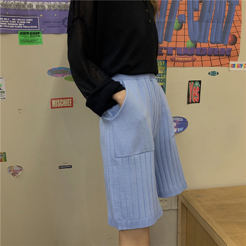 2020 Summer New Style Loose Straight Slim Thin Casual Shorts