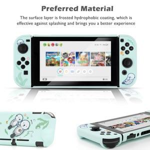 Image 3 - Zee Otter Beschermende Shell Voor Nintendo Switch Hard Cover Grip Shell Ns Lite Behuizing Case Voor Nintendo Switch Accessoires