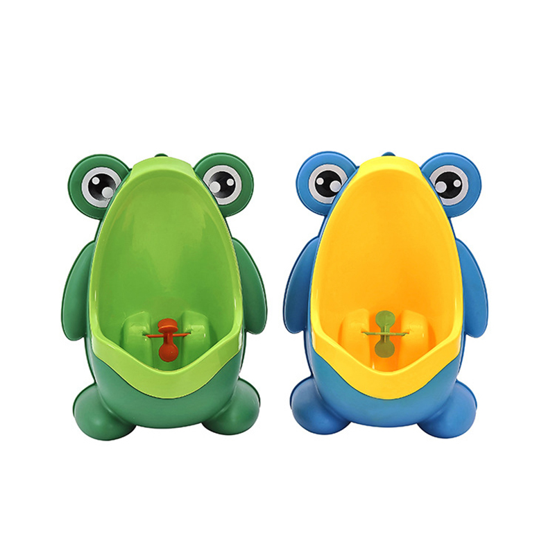 Frog Baby Potty Toilet Urinal Kids Potty Baby Boy Pee Trainer Toddler Wall-Mount Bathroom Toilet Urinal Child Girl Travel Potty
