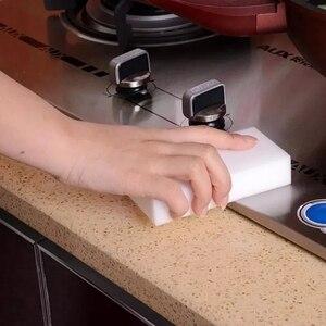Image 5 - 100pcs 100 x 60 x 10mm  Melamine Sponge Magic Sponge High Density Eraser Home Cleaner Cleaning Sponges for dish Kitchen