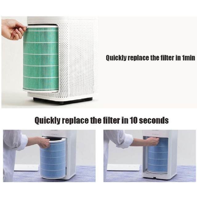 Air Purifier Filter Replacement Active Carbon Filter For Xiaomi mi 1/2/2S/3/3H HEPA Air Filter For Home Anti PM2.5 Formaldehyde