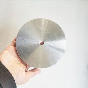 "Image 2 - 6"" / 8"" Aluminum Master Lap Polishing Plate Holder for Diamond Grinding Pad / Sanding Disc"