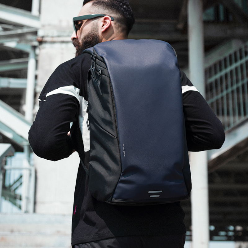 Tangcool nova chegada dos homens moda mochila 15.6 laptop portátil mochila à prova dwaterproof água de alta capacidade mochila viagem diária escola