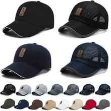 Visors-Cap Hat-Caps Snapback Fishing-Mesh Riding Outdoor Hats Thicken Adjustable Men