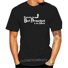 2020 Fashion Hot sale 'Probably the Best Accountant in the World' Funny Birthday Gift Idea T-shirt Tee shirt