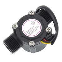 1pcs Water flow sensor flowmeter Hall flow sensor Water control 1-30L/min 2.0MPa