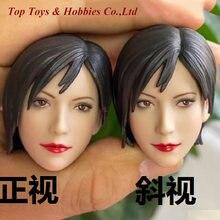 Масштаб 1:6 женская голова Лепка ada wong резьба модель для