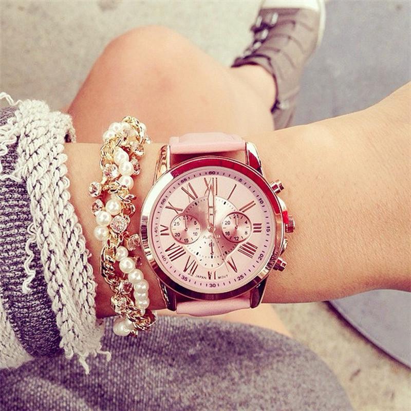 H7a8bbbea5aa54df2b58f39620f0e0fd1F Women Ladies Fashion Bracelet Wrist Watch Wristwatches