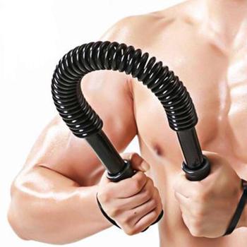 Siła ramienia sprężyny kulka do ściskania ramię Power Blaster sprzęt do siłowni Expander przedramię sprężyna Power twister 20-60kg sprzęt Fitness tanie i dobre opinie FH2859 Ramiona