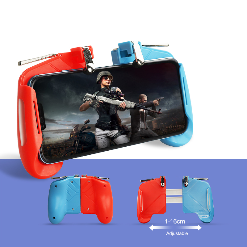 AK16 Pubg Mobile Gamepad Pubg Controller for Phone L1R1 Grip with  Joystick/Trigger L1r1 Pubg Fire Buttons for iPhone Android IOS| | -  AliExpress
