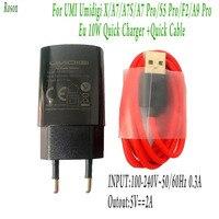 Caricabatterie rapido Roson originale con cavo dati tipo C da 1M ricarica rapida per Umi Umidigi X A7 A7 Pro A7S S5 Pro A9 Pro F2 5V-2A