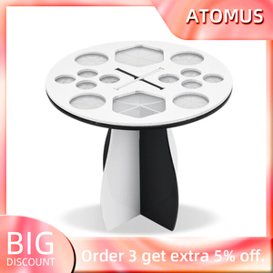 14 Holes Makeup Brush Holder Air Drying Rack Organizer Shelf Make Up Tree Brushes Organizer Cosmetic Brush Dryer Stand Storage(China)
