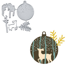 YaMinSanNiO Christmas Deer Series Metal Cutting Dies Girl Album Paper Craft Stencil Templates Diy Scrapbooking Card Making Dies yaminsannio deer dies metal cutting dies new 2019 for card making scrapbooking diy album decor paper craft stencil for die cut