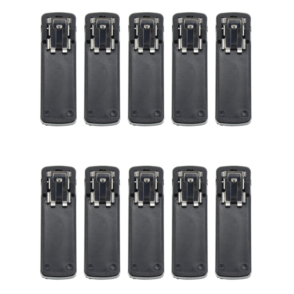 10X Belt Clip For Motorola MT2100 MTS2000 MTX838 MTX8000 MTX9000 Walkie Talkie