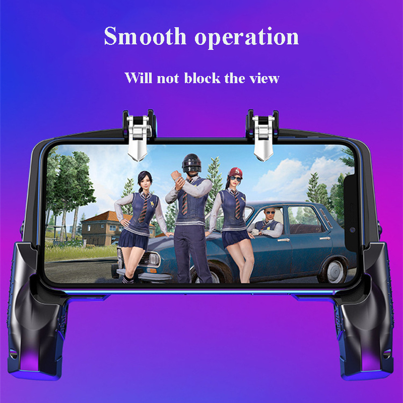 Metal Pubg Controller Joystick For Pubg Mobile Trigger Gamepad For iPhone Android Phone Shooting Game 5