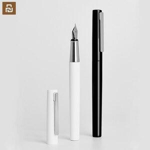 Image 1 - Xiaomi kaco brio 검정/흰색 만년필 잉크 가방 보관 가방 상자 케이스 0.3mm 펜촉 펜 쓰기 펜 쓰기 펜