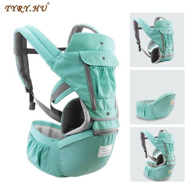 Tyry. hu ergonômico portador de bebê infantil hipseat portador de canguru saco para hipseat frente face suporte do bebê portador da cintura do bebê
