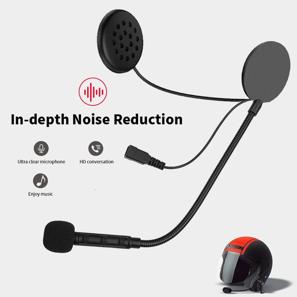New M1 Bluetooth Anti interference Headset For Motorcycle Helmet Riding Hands Free Headphone Motorcycle Helmet Headset|Helmet Headsets| |  - title=