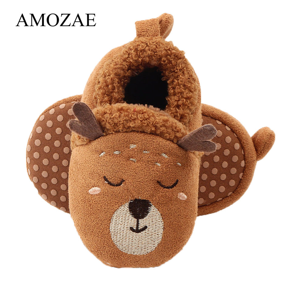 Baby Girls Boys First Walkers Soft  Soles Infant Toddler Shoes Cute Animal Crib Shoes Footwear For Newborns Baby Shoes
