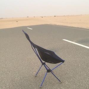 Image 3 - Портативное складное кресло Moon Chair, стул для рыбалки и кемпинга, складное дополнительное сиденье для пешего туризма, садовая Ультралегкая офисная мебель для дома