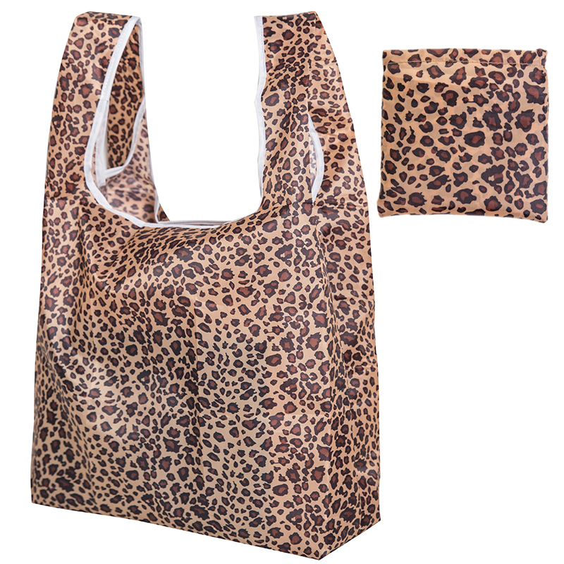 Foldable Recycling Shopping Bag Travel Backpack Environmental Polyester Reusable Supermarket Shopping Bag Handbag Sexy Storage