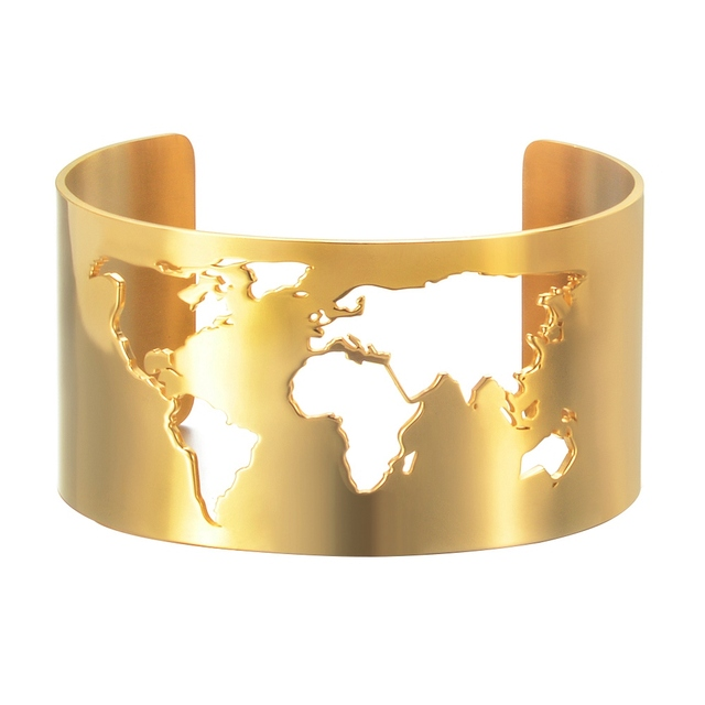 Travel Peace Bangle Jewelry...