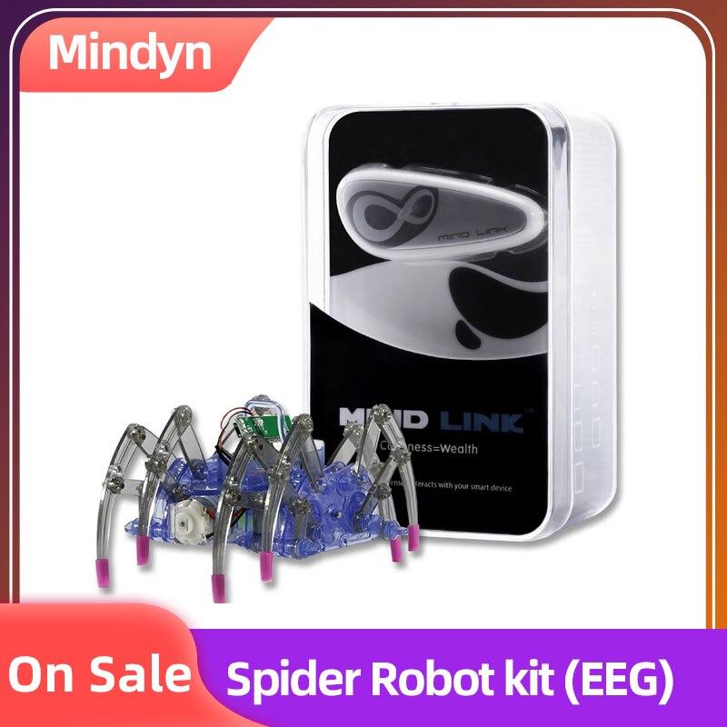 EEG Brainlink Game Controller Headset Wearable Devices Spider Robot Kit EEG Training Neuro Feedback