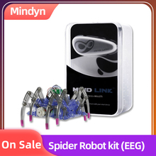 EEG Brainlink Game Controller Headset Wearable Devices Spider robot kit EEG training neuro feedback цена в Москве и Питере