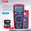Цифровой мультиметр UNI-T UT89X; AC DC измеритель напряжения тока; амперметр вольтметр тестер сопротивления температуры; NCV/Тест провода