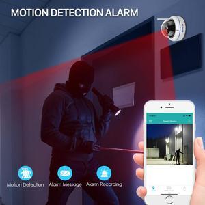 Image 2 - HD1080P Vandal proof IP Camera WiFi SD Card Slot 64Gb Motion Ai Detect Alert Dome 2MP Audio Security CCTV Camera ONVIF P2P ICSee