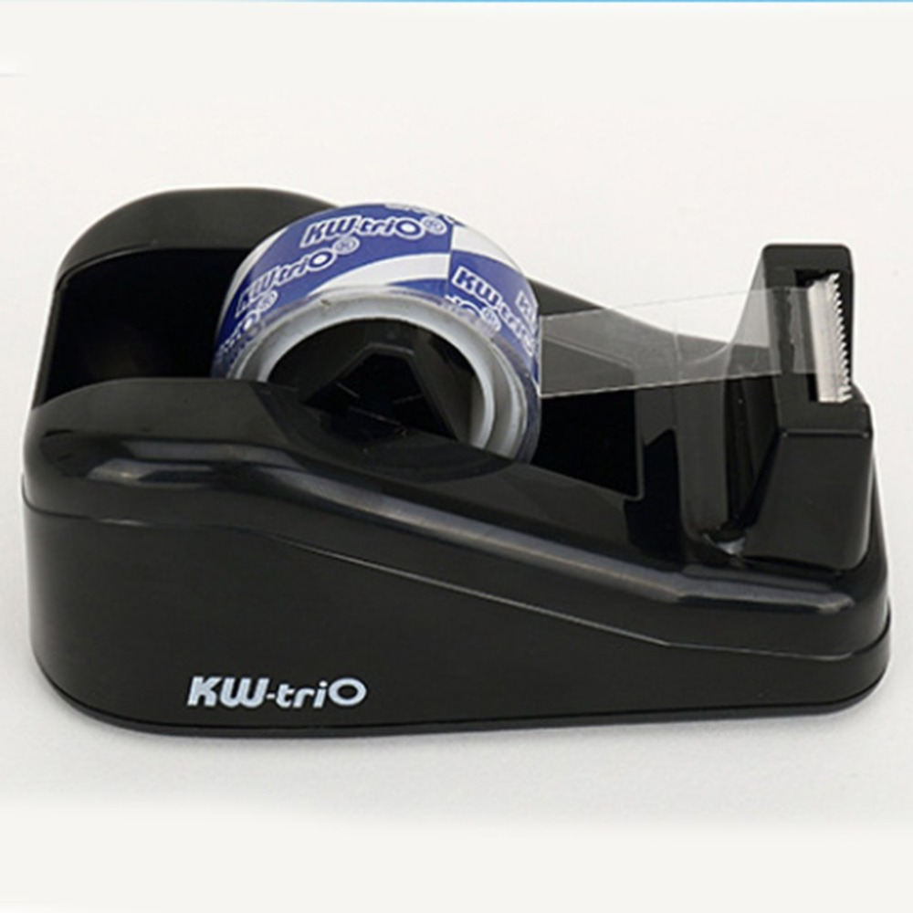 Simple Effective Tape Dispenser Large Stationery Adhesive Tape Cutter Sealing Tape Table Base Dispenser Office Supplies