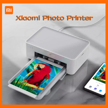 Photo-Printer Mijia Portable Bluetooth Wireless Xiaomi 6-Inch-Color Remote-Hd