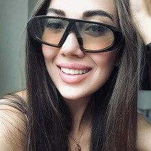 Tesia New Fashion Women Sunglasses Cool Oval Plastic Frame B