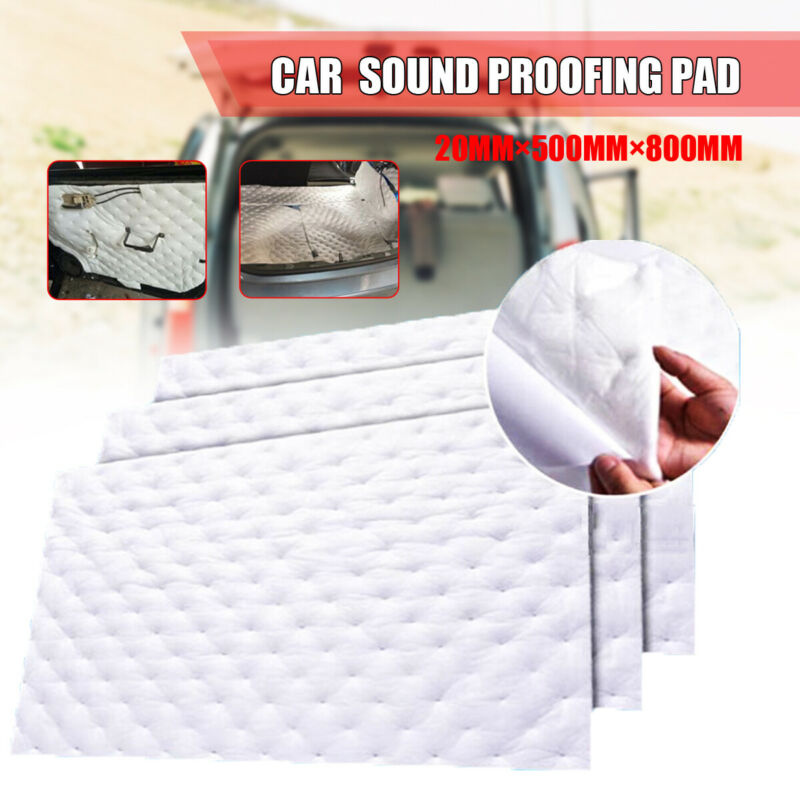 Car Auto Vehicle Sound Proofing Pad Deadener Insulation Roll Closed Cell Foam Fire- Retardant Sound-proof Pad PP+PET