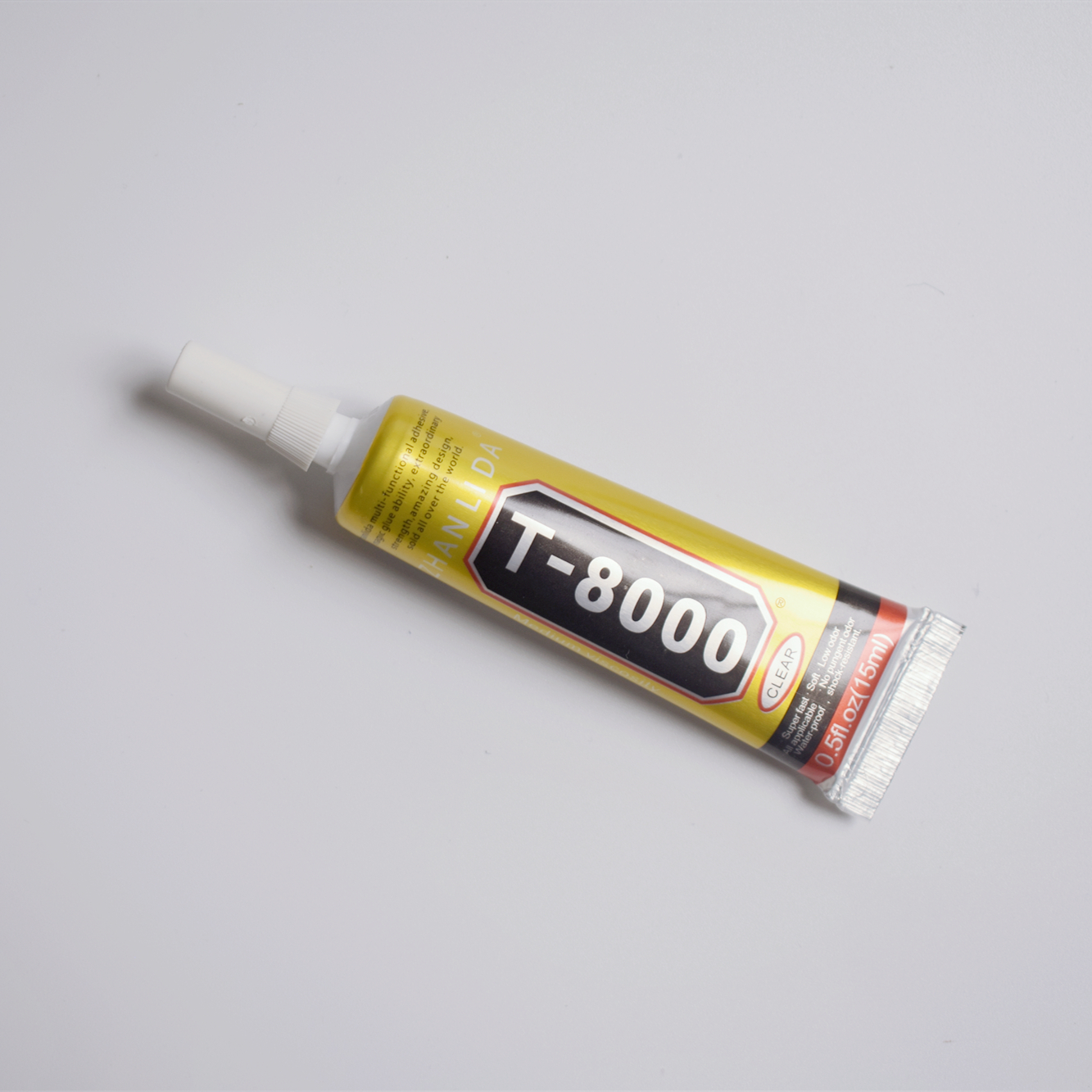 1 Pcs 15ml T-8000 Glue <font><b>T8000</b></font> Multi Purpose Glue Adhesive Epoxy Resin Repair Cell Phone LCD Touch Screen Super Glue T 8000 image