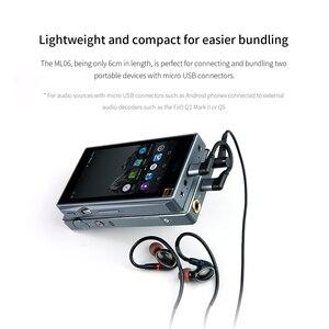 Image 3 - FiiO Cable de Audio para teléfonos móviles y reproductores, Micro USB, Hifi, ML06, para MOjO FiiO Q1II/Q5/M7 DAP