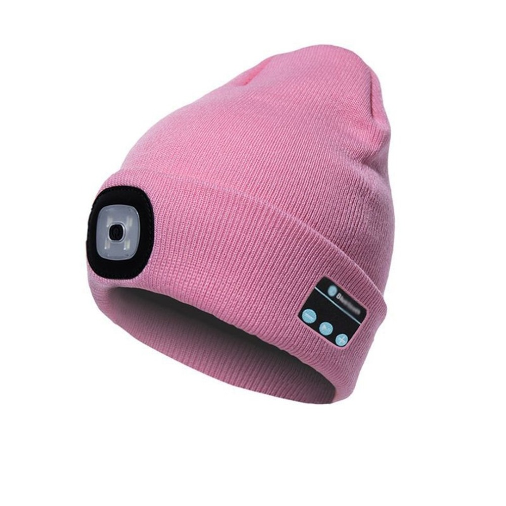 Winter Warm Knitted Wireless Bluetooth Headset Music Hat for Running Skiing Hiking TAGVO Bluetooth V5.0 Beanie with Touchscreen Gloves Set