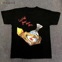 Travis Scott ASTROWORLD TOUR TRAVIS T-shirt 1:1 High Quality Men Justin Bieber T shirts Tees