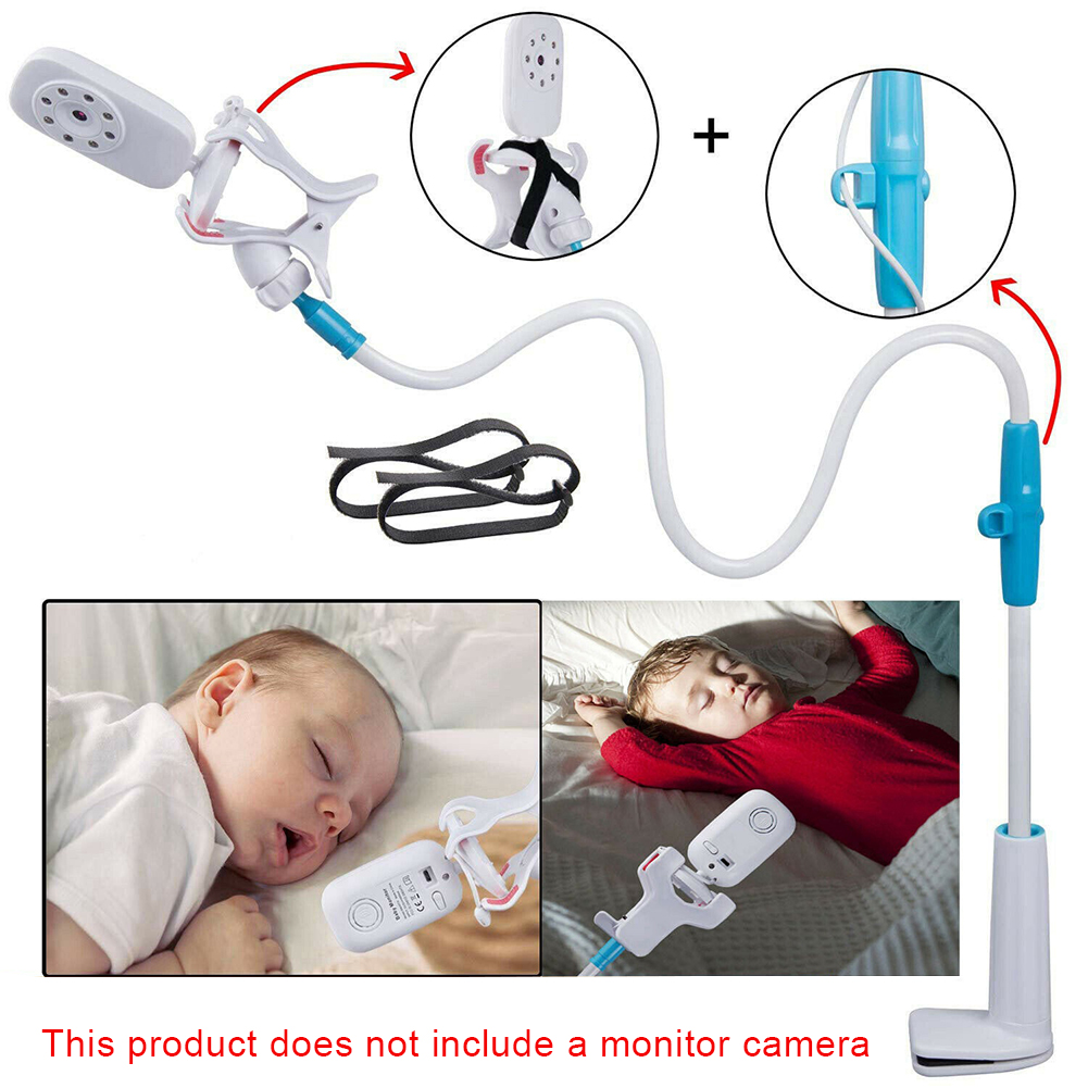 Multifunction Universal Phone Holder Stand Bed Lazy Cradle Long Arm Adjustable Baby Monitor Wall Mount Camera For Shelf Flexible