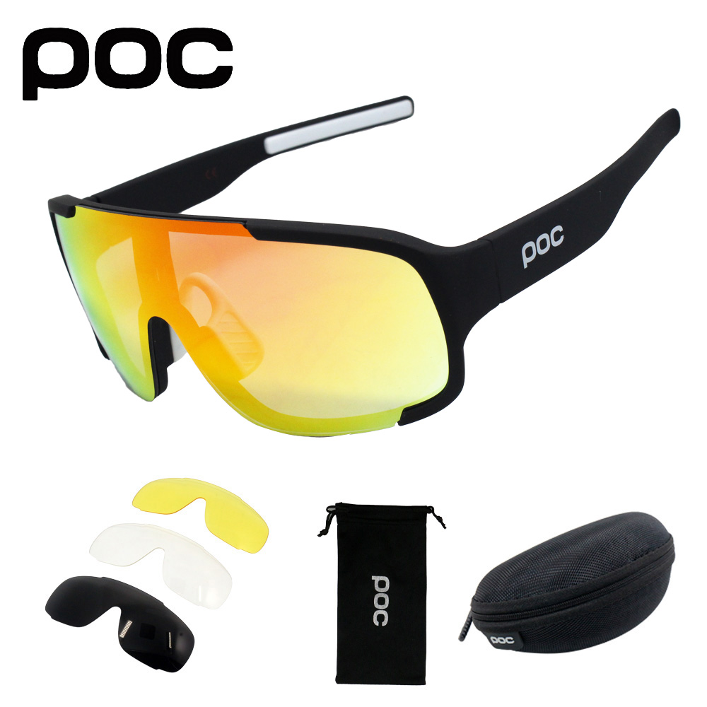 Sport Sunglasses Cycle-Eyewear Bike Mountain-Bicycle 4-Lens Men Beisbol Lentes-De-Sol title=