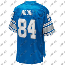 Football-Jersey Detroit American Customized-Stitch Youth Kid Retired-Player Royal-Replica