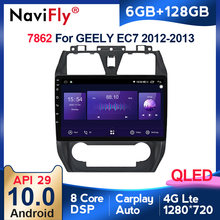 6G + 128G QLED Carplay Android 10 Auto DVD Player GPS Navigation Multimedia Auto Radio Für GEELY Emgrand EC7 2012 2013 Auto Stereo