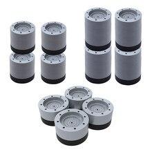 Coussinets Anti-vibrations pour Machine à laver, 4 pièces, Anti-bruit, secousses, marche, absorbe les chocs, pas de prise en main
