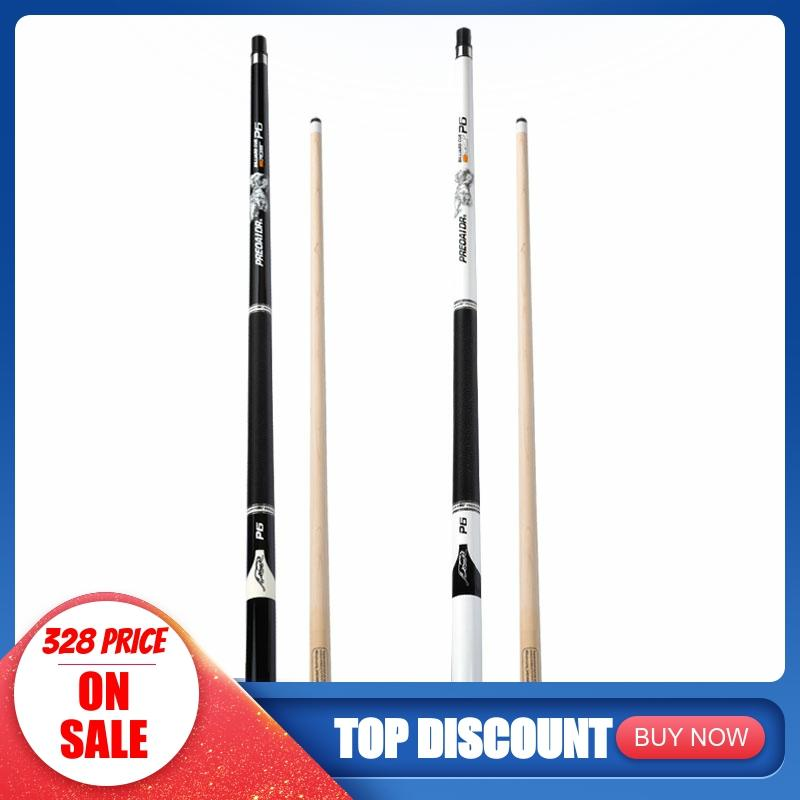 PREOAIDR 3142 P6 Pool Cue Billiard Stick Kit 13mm/11.5mm/10mm Tips Black/White Color Pool Cue Case Set With Extension With Case